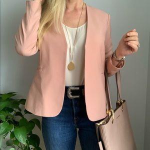 Theory Dusty Pink blazer sz 6